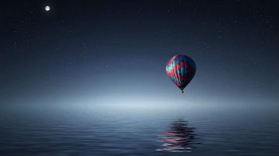 ballon dunkel 564