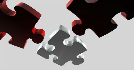 puzzle rot grau 0x 564