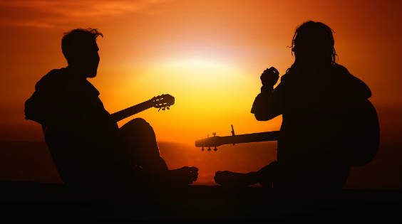 sonne gitarre 564