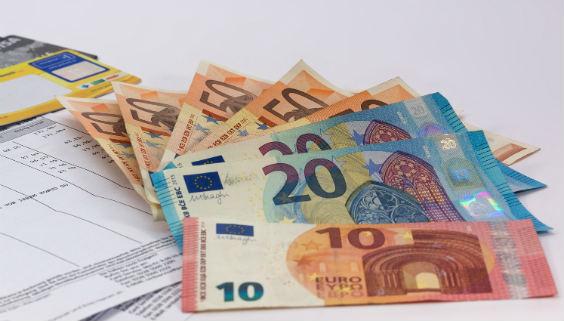 abrechnung euronoten 564