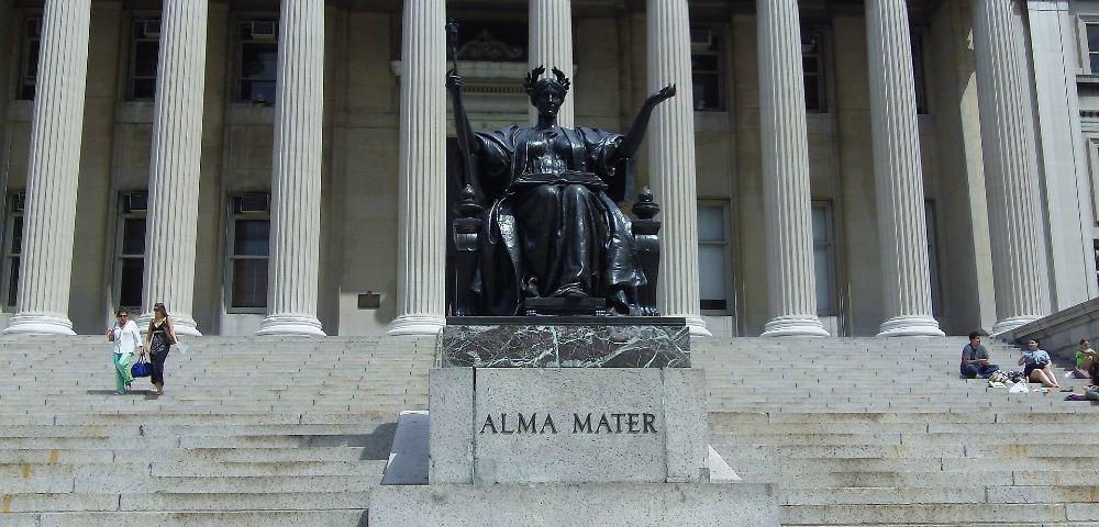 alma mater statue 1000