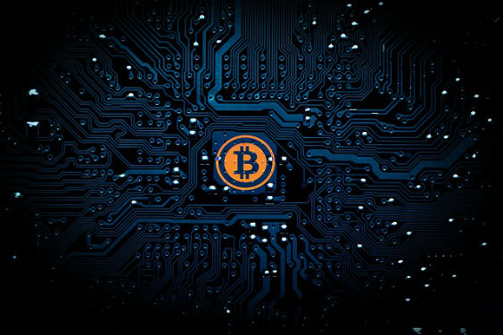 bitcoin blau muster o9 564