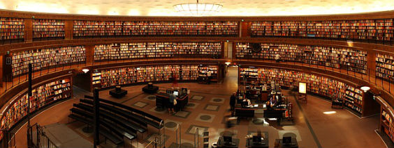 buecher bibliothek halbrund 8 564