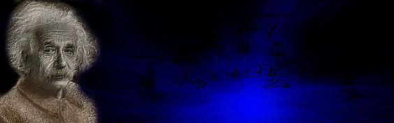 einstein banner blau gu 564