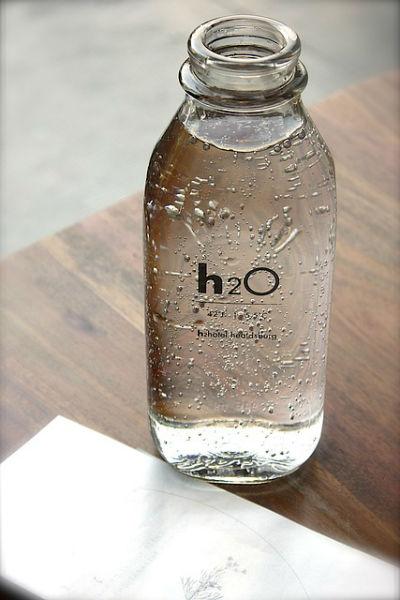 flasche wasser h20 564