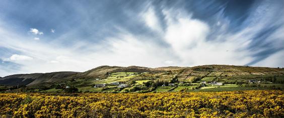 irland huegel himmel 564