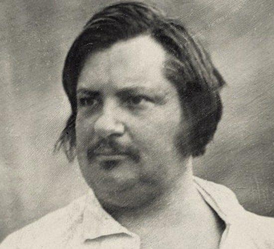 Honore de Balzac im Jahr 1842