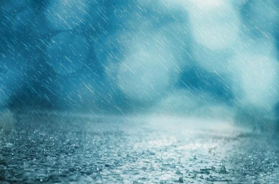 regen blau ur 564