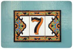 Sieben Hausnummer