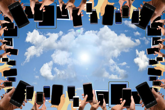 smartphones kreis himmel 7c 564