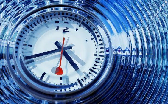 Uhr Zeitdruck