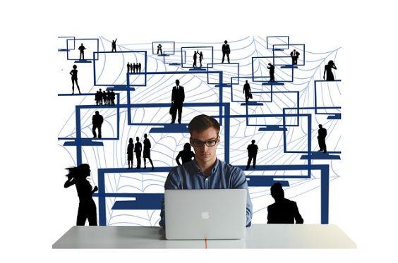 unternehmer laptop netzwerk 6j 564