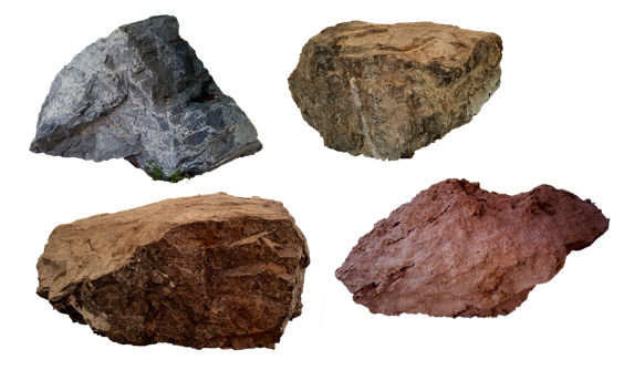 auf granit beissen steine 564