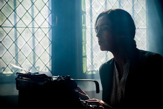 autorin schreibmaschine blau hr 564