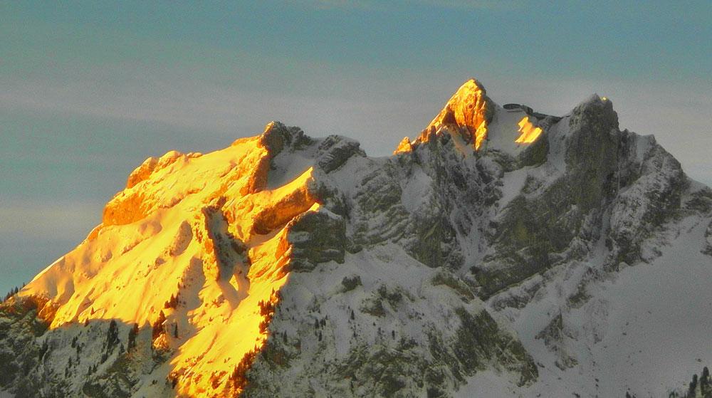 schweizer berg pilatus 1000