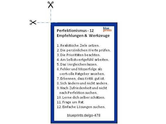 blueprints merkkarte perfektionismus 564