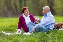 Aufmerksame Gespräche bauen Zuneigung auf