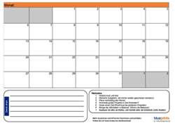 Erfolgreiche Monatsplanung