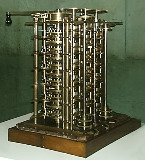 Babbages difference engine 1832 564